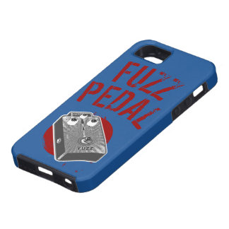 Psychedelic Guitar Fuzz Black & White iPhone 5 Cases
