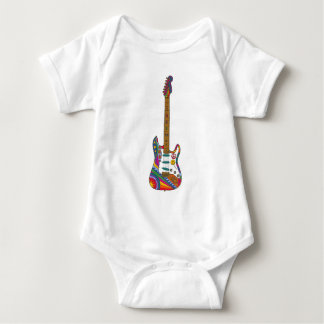 Psychedelic Guitar T Shirt