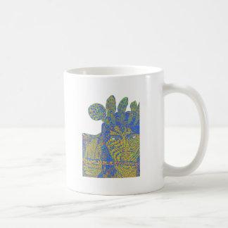 Psychedelic hazy Krishna Coffee Mug