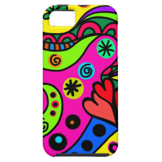 psychedelic hearts #3 iPhone SE/5/5s case
