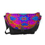 Psychedelic Hearts Rickshaw Messenger Bag