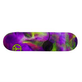 Psychedelic Hippie Peace Loving Kangaroo, Dude! Skate Board Decks