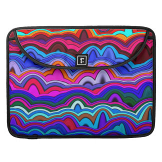 Psychedelic Hippy Blue MacBook Pro Sleeve