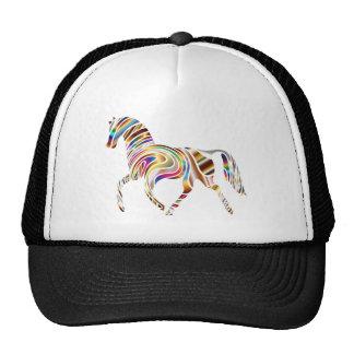 Psychedelic Horse Trucker Hat