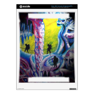 psychedelic ice cave Xbox 360 (original) skins Decal For The Xbox 360