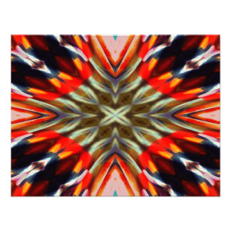 Psychedelic Illusion Abstract Custom Announcements