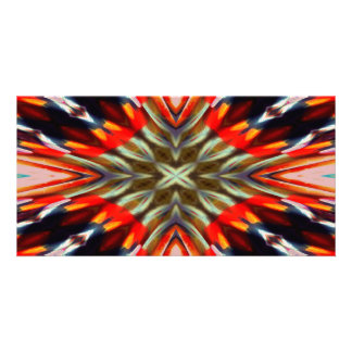 Psychedelic Illusion Abstract Photo Cards