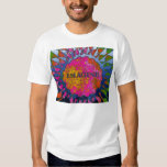 Psychedelic Imagine Mosaic, Strawberry Fields 02 Tees