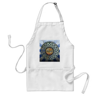 Psychedelic Imagine Mosaic, Strawberry Fields B1 Adult Apron