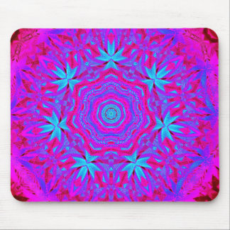 Psychedelic in Pink Mousepad