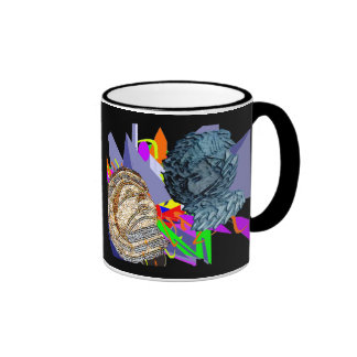 Psychedelic Jaunldzy Face Mugs