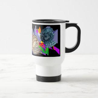 Psychedelic Jaunldzy Face Travel Mug
