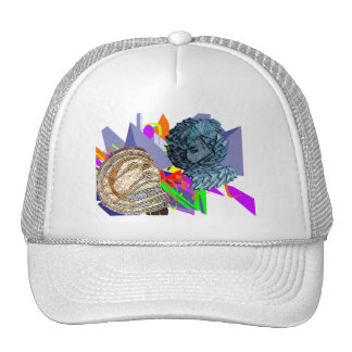 Psychedelic Jaunldzy Face Trucker Hat