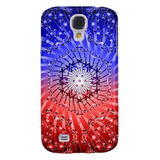 Psychedelic Kaleidoscope Spiral: Samsung Galaxy S4 Cover
