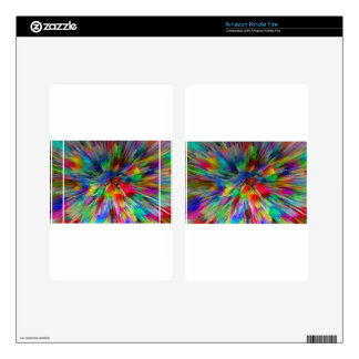 Psychedelic Kindle Fire Skin