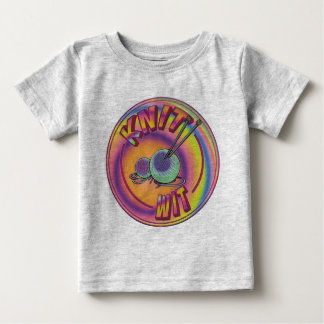 Psychedelic Knit Wit Baby T-Shirt