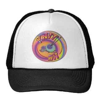 Psychedelic Knit Wit Trucker Hat