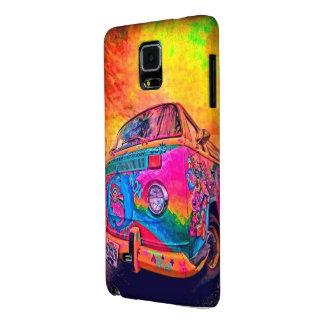 Psychedelic kombi galaxy note 4 case