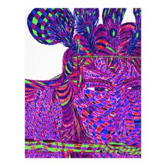 Psychedelic Krishna Letterhead