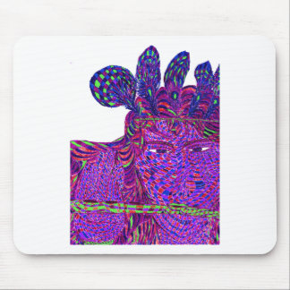 Psychedelic Krishna Mouse Pad
