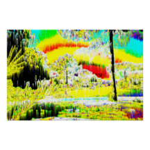 Psychedelic Landscape Posters