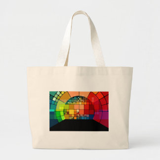 Psychedelic Large Tote Bag