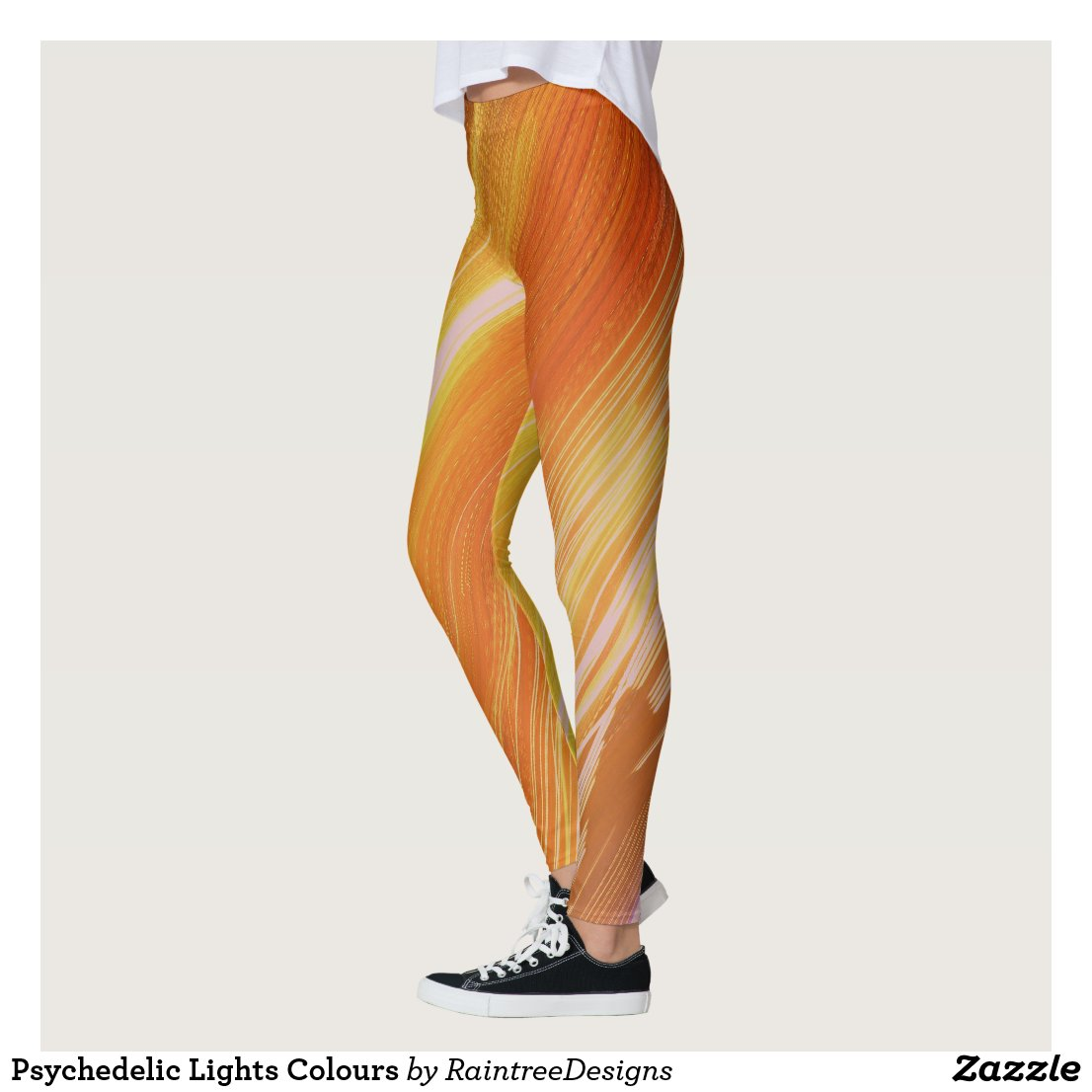 Psychedelic Lights Colours Leggings