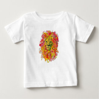 Psychedelic Lion Baby T-Shirt