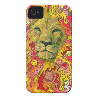 Psychedelic Lion iPhone 4 Cover