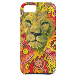 Psychedelic Lion iPhone SE/5/5s Case