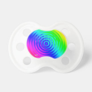 Psychedelic Liquid Rainbow I Pacifier