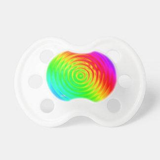 Psychedelic Liquid Rainbow II Pacifier