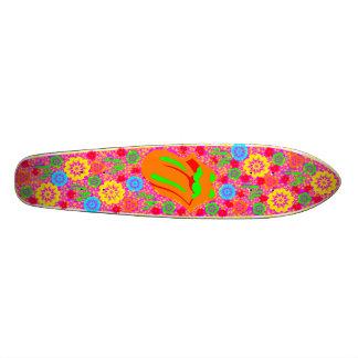Psychedelic Longboard Skateboard Deck