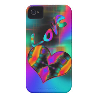 Psychedelic Love iPhone 4 Case