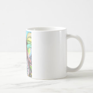 Psychedelic Love,Heart Mugs