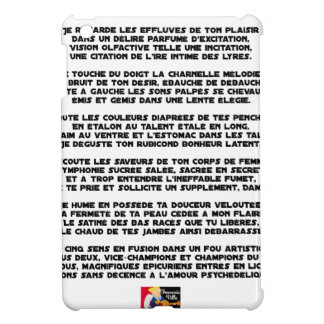Psychedelic love - Word games - François City iPad Mini Cover
