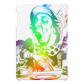 Psychedelic Mad Hatter Trippy Alice iPad Mini Cover