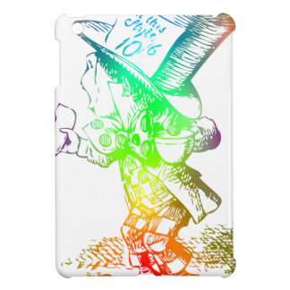 Psychedelic Mad Hatter Trippy Alice iPad Mini Covers