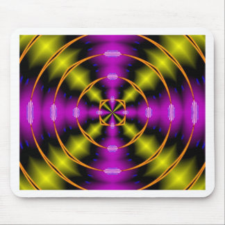 psychedelic mouse pad