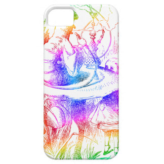 Psychedelic Mushroom Alice's Adventures Wonderland iPhone 5 Covers