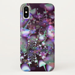 Psychedelic mushrooms iPhone x case
