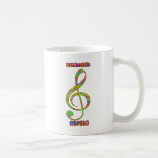 Psychedelic Musicpsychedelic, psychedelia, hippie, Coffee Mug
