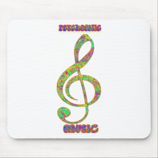 Psychedelic Musicpsychedelic, psychedelia, hippie, Mouse Pad