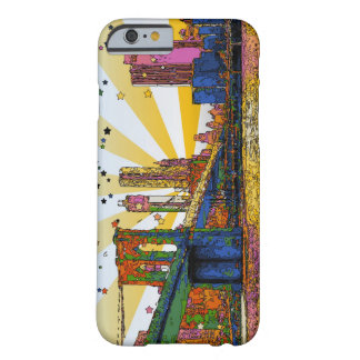 Psychedelic New York City: Brooklyn Bridge, WTC #1 Barely There iPhone 6 Case
