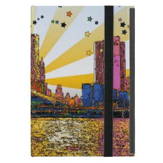 Psychedelic New York City: Brooklyn Bridge, WTC #1 Case For iPad Mini