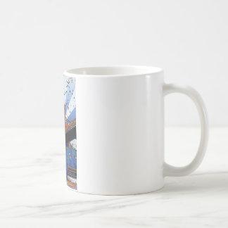 Psychedelic NYC: Brooklyn Bridge #2 Coffee Mug