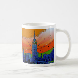 Psychedelic NYC: Empire State Building #3 Coffee Mug
