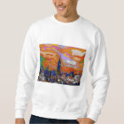 Psychedelic NYC Empire State Building & Skyline A1 Sweatshirt