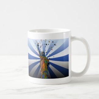 Psychedelic NYC: Statue of Liberty #2 Coffee Mug