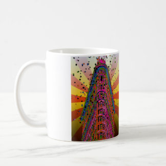 Psychedelic NYC - Top of the Flatiron Building A2 Coffee Mug